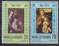 NOUVELLES HEBRIDES            N° YVERT    330/351 NEUF SANS CHARNIERES     ( Nsch 02/ 25 ) - French Legend