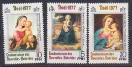 NOUVELLES HEBRIDES            N° YVERT    521/523  NEUF SANS CHARNIERES     ( Nsch 02/ 26 ) - French Legend