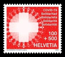Switzerland 2020 Mih. 2662 COVID-19 Coronavirus Pandemic MNH ** - Neufs