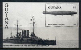 Guyana 1989 Graf Zeppelin MS MUH - Guyana (1966-...)