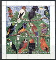 Guyana 1993 Birds Sheetlet MUH - Guyana (1966-...)