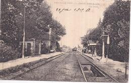 Dépt 37 - NEUILLÉ-PONT-PIERRE - La Gare - Animée, Train Petit Plan - Neuillé-Pont-Pierre