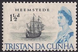 Tristan Da Cunha 1965 - 67 QE2 1 1/2d Heemstede MM SG 73 ( J908 ) - Tristan Da Cunha