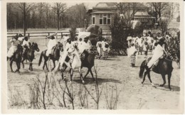 Carl Hagenbeck Altona-Stellingen Hamburg, African Horsemen(?), Tierpark Circus, C1930s Vintage Postcard - Circo