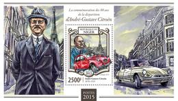 Niger 2015 André-Gustave Citroën,cars - Niger (1960-...)