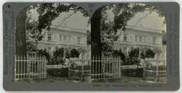 Poland ~ WARSAW ~ Paderewski Villa Stereoview 8801 654bx NEAR MINT - Stereoscoop