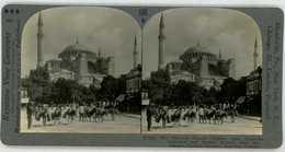 Turkey ~ CONSTANTINOPLE ~ Hagia Sophia Museum Mosque Stereoview 7181 696e - Stereoscoop
