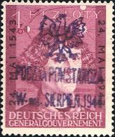 Fischer Warsaw Uprising 55   General Government 1Z+1Z Copernicus Astronomer Overprinted 24 Mai. 1543 24. Mai 1943 ... - 1939-44: World War Two