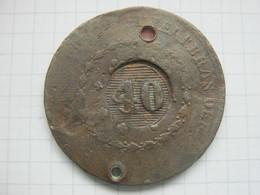 Brasil , 40 Reis 1835 ? - Brésil