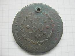 Brasil , 80 Reis 1830 - Brésil