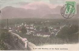 Suisse - MONTHEY Et Les Alpes Vaudoises - VS Valais