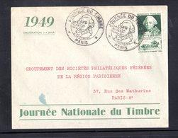""""""" JOURNEE DU TIMBRE 1949 : DUC DE CHOISEUL """" Sur Enveloppe 1er Jour De 1949 N° YT 828 Parf état  FDC - ....-1949"""