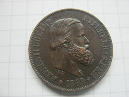 Brasil , 20 Reis 1869 - Brésil