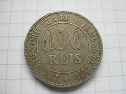 Brasil , 100 Reis 1871 - Brésil