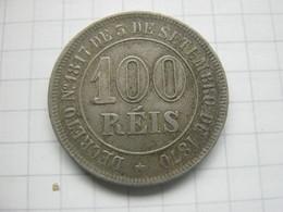 Brasil , 100 Reis 1883 - Brésil