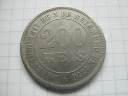 Brasil , 200 Reis 1884 - Brésil