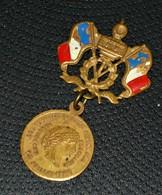 Ancienne Médaille 14 Juillet 1880 - Remise Des Drapeaux à L'armée Française Par Jules GREVY - Président De La République - Frankreich