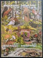 153. BELGIUM 2004 STAMP M/S ANIMALS & BIRDS OF THE FOREST . MNH - Ongebruikt