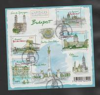 """FRANCE / 2011 / Y&T N° 4538/4541 En BF Ou F4538 (Bloc-feuillet """"Capitales Européennes : Budapest"""") - Oblitéré FDC. SUPER - Blocs & Feuillets"""