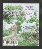 """FRANCE / 2011 / Y&T N° 4580/4581 En Bloc Ou F4580 (Feuillet """"Jardins De Cheverny & Villandry"""") - Oblitéré FDC. SUPERBE ! - Blocs & Feuillets"""