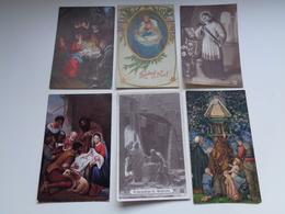 Lot De 60 Cartes Postales De Fantaisie  Religion  Foi   Lot Van 60 Postkaarten Fantasie  Godsdienst  Geloof - 5 - 99 Postcards