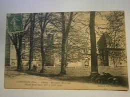 CPA ,Carrouges Château Façade NO,Orne 61,voyagée 1915,TBE,pas Commun - Carrouges