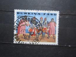 "VEND BEAU TIMBRE DU BURKINA FASO N° 1242 , OBLITERATION "" OUAGADOUGOU "" !!! - Burkina Faso (1984-...)"