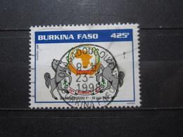 "VEND BEAU TIMBRE DU BURKINA FASO N° 1051D , OBLITERATION "" OUAGADOUGOU "" !!! - Burkina Faso (1984-...)"