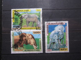 VEND BEAUX TIMBRES DU BURKINA FASO N° 1236 - 1238 !!! - Burkina Faso (1984-...)