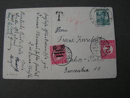 Karte Nach Ungarn Mit Porto Belegt , Schöne AK Kind Mit Teddy  1934 - Briefe U. Dokumente