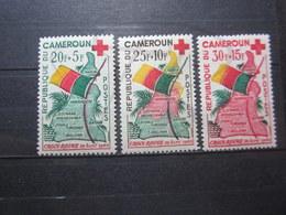 VEND BEAUX TIMBRES DU CAMEROUN N° 314 - 316 , X !!! - Kameroen (1960-...)