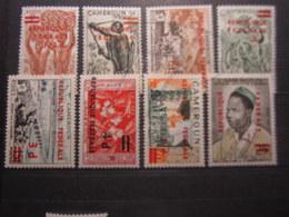 VEND BEAUX TIMBRES DU CAMEROUN N° 320 - 327 , X !!! - Kameroen (1960-...)