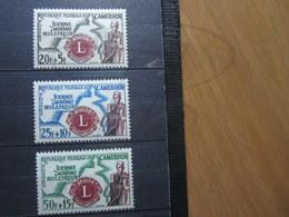 VEND BEAUX TIMBRES DU CAMEROUN N° 335 - 337 , X !!! - Kameroen (1960-...)
