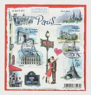 """FRANCE / 2010 / Y&T N° 4514/4517 En Bloc Ou F4514 (Feuillet """"Capitales Européennes : Paris"""") - Oblitéré FDC. SUPERBE ! - Blocs & Feuillets"""