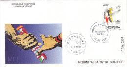 E470 - ALBANIE Yv N°2385 FDC EUROPA CEPT - Albanien