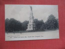 Rotograph Soldiers & Sailors Monument    Connecticut > Bridgeport      Ref 4103 - Bridgeport
