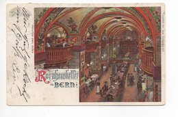 BERN Kornhauskeller Pächter Emil Rubin Gel. 1900 Ambulant Stapstempel Bern - BE Berne