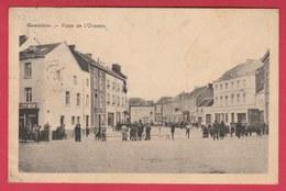 Gembloux - Place De L'Ormeau ... Lutte De Balle Pelote - 1947 ( Voir Verso ) - Gembloux