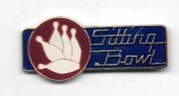 Pin's  Sport  BOWLING  Sitting  Bowl - Bowling