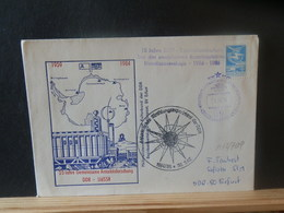 A12/709  LETTRE RUSSE   1984 - Antarktis-Expeditionen