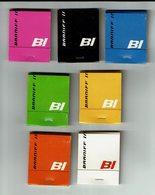"7 Pochettes D'allumettes "" Braniff International "" United States Mexico South America "" - Matchboxes"