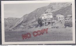 Au Plus Rapide Panneau Routier N 202 Col De La Cayolle Beau Format - Photographs