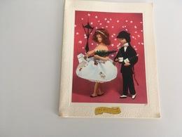 "Carte Postale Double Carton  "" Les Amoureux De Peynet "" - Peynet"