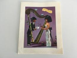"""Carte Postale Double Carton  """" Les Amoureux De Peynet """" Yvon - Peynet"""