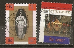 Pays-Bas Netherlands 1998 Coronation Set Complete Obl - Usados