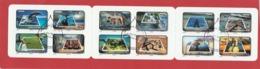 FRANCE CARNET 12 TIMBRES OBLITERE FETE DU TIMBRE NON PLIE LE TIMBRE FETE L EAU  - BC 403 - Markenheftchen