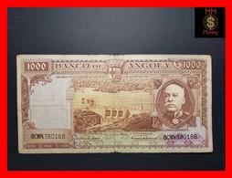 ANGOLA 1.000  1000 Escudos 15.8.1956 P. 91  Fine - Angola