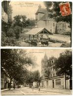GOURDON - 2 Cartes - Tour De Ville - Notre-Dame Des Neiges  - Voir Scan - Gourdon