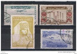 SIRIA:  1946/62  P.A.  VARI  -  4  VAL. US. -  YV/TELL. 4//183 - Siria