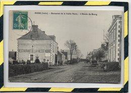 DPT  . - . 36 - MERS - RESTAURANT DE LA VALLEE NOIRE. L' ENTREE DU BOURG - France